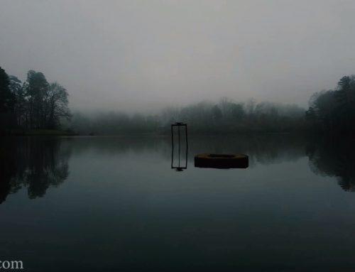 Mavic Mini Misty Lake Flight